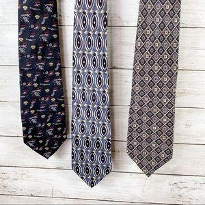 Set of 3 Men's Ties